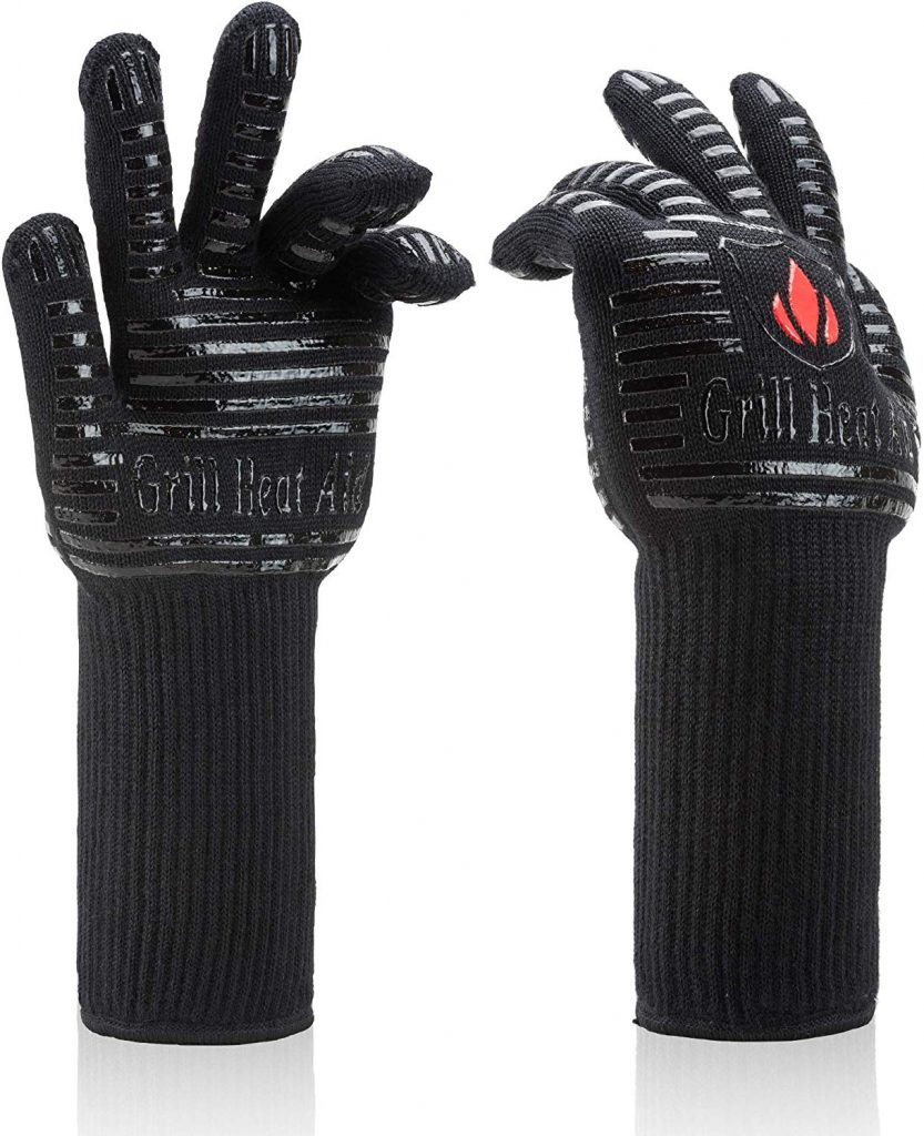 BBQ gloves extreme heat resistant - photo 2