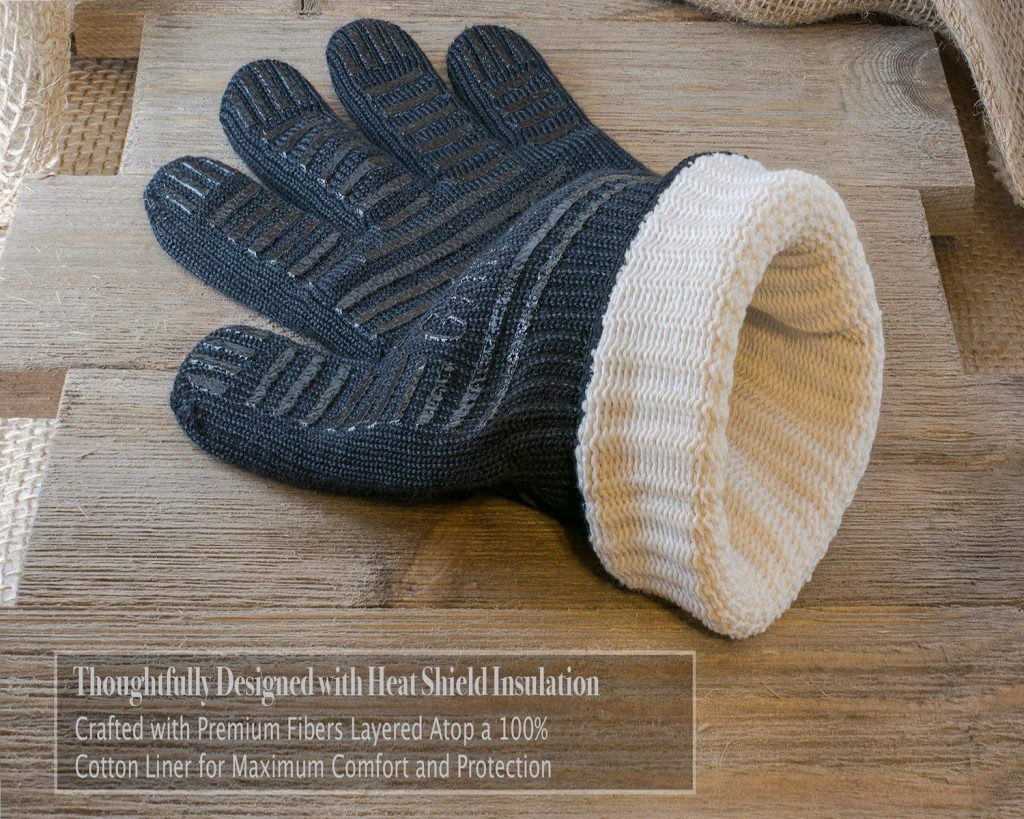BBQ gloves extreme heat resistant - photo 3