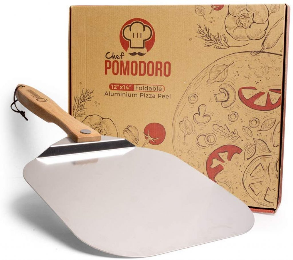 Chef pomodoro -aluminium metal pizza - photo 3
