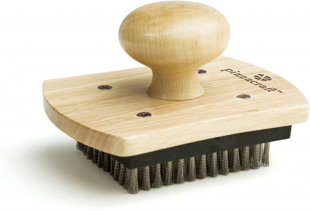 Pizzacraft hardwood handled stone scrubber - photo 3