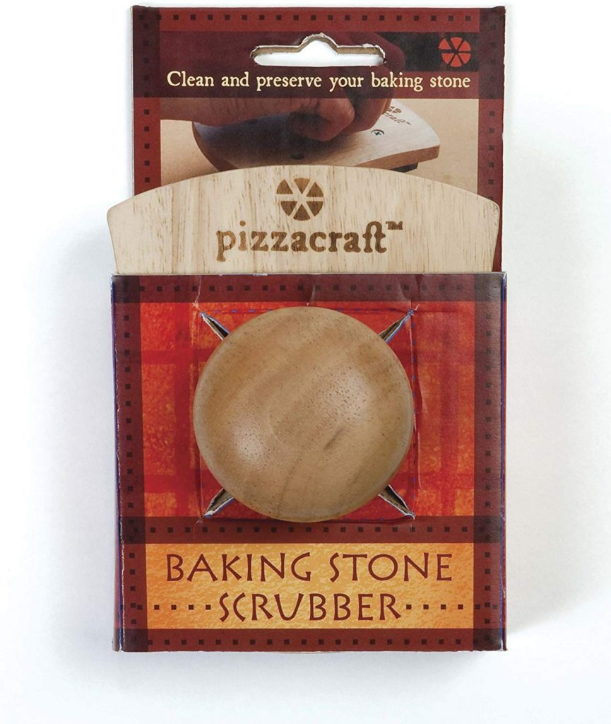 Pizzacraft hardwood handled stone scrubber - photo 1