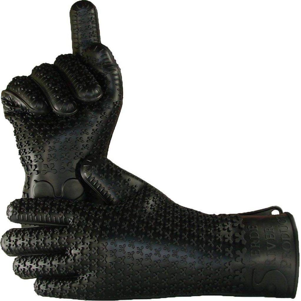 VRP heat resistant silicone gloves - photo 3