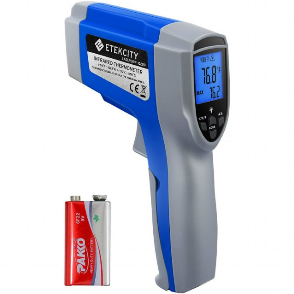 Etekcity 1022D dual laser digital thermometer - photo 2