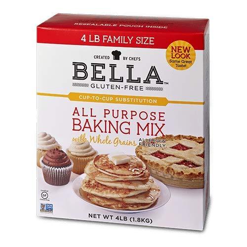 Bella Gluten-Free All Purpose Baking Mix Premium Casein Free Healthy Flour