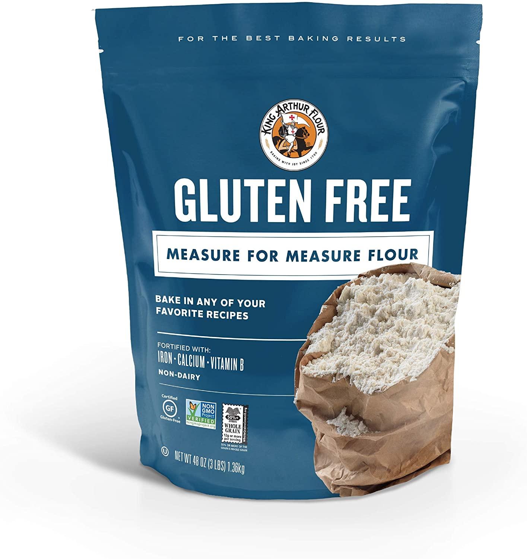 King Arthur Flour, Measure for Measure Flour, Gluten-Free, 3 Pound