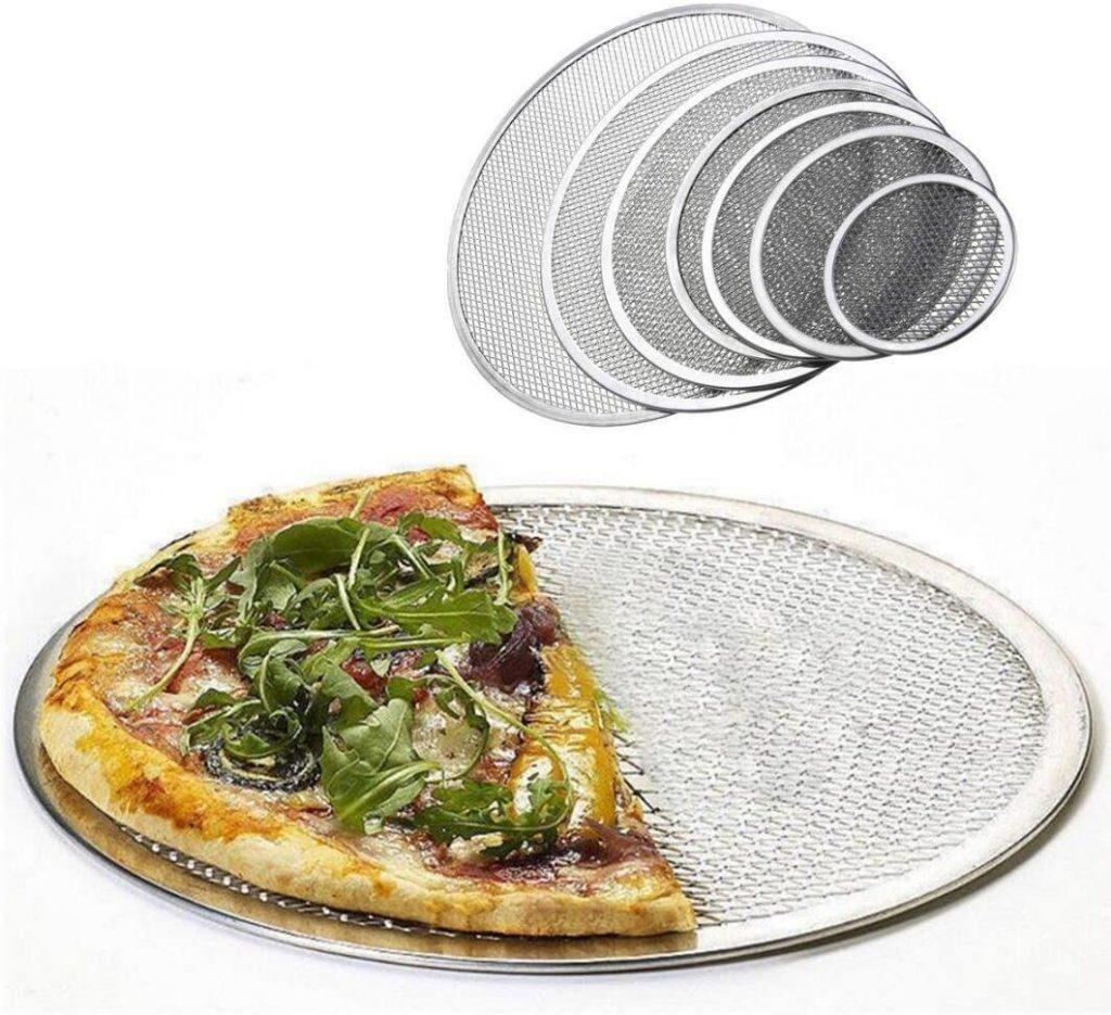 DingSheng Seamless Aluminium Mesh Pizza Screen