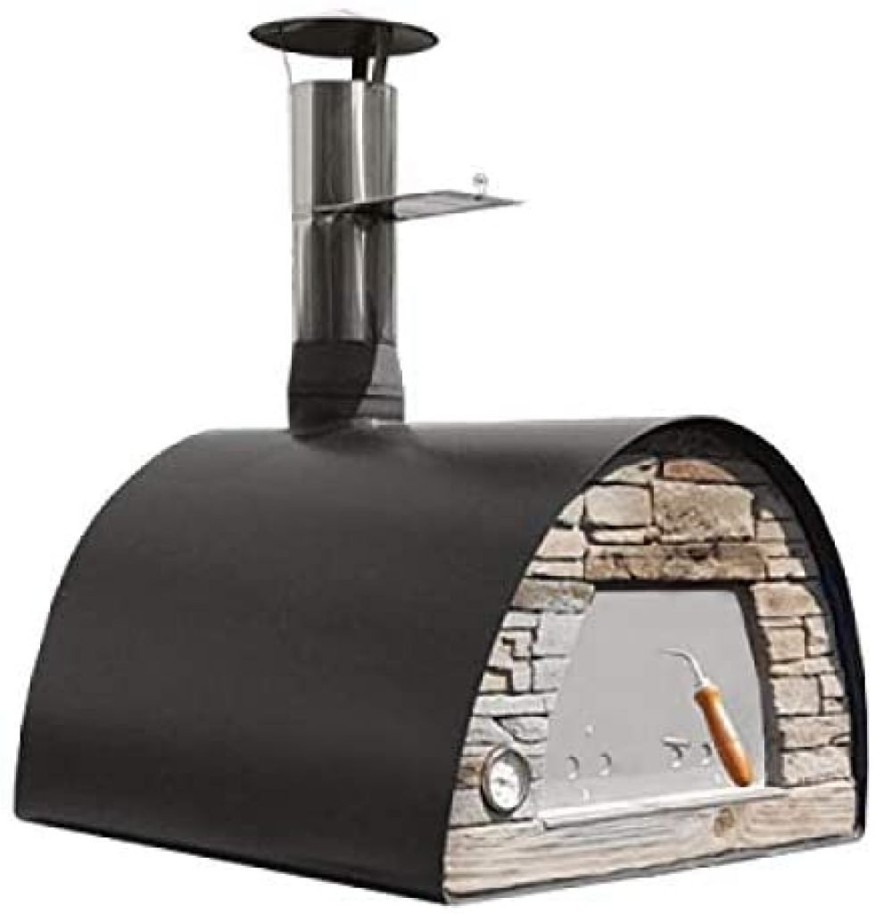 Maximus-Black-Wood-Fire-Oven
