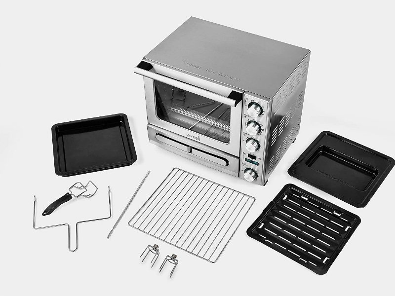 Gemelli Twin Oven Fully AccessoriseD