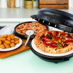 Pizza Maker with Stone & Baking Pan