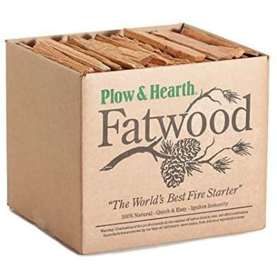 Plow & Hearth Boxed Fatwood Fire Starter