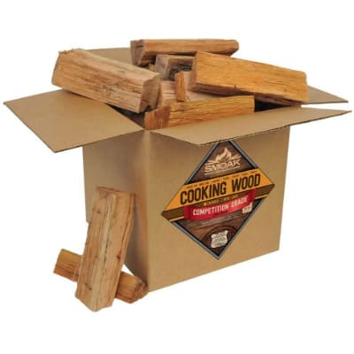 Smoak Firewood Cooking Wood Logs - USDA Certified Kiln Dried