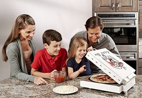 familly with CuiZen PIZ-4012 Pizza Box Oven