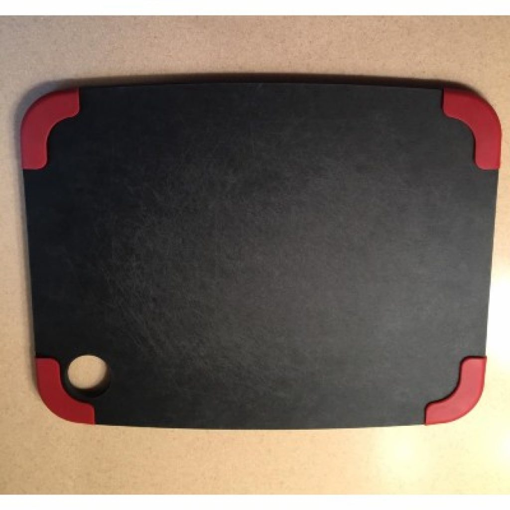 Epicurean Non-Slip Series Cutting Board, view from above