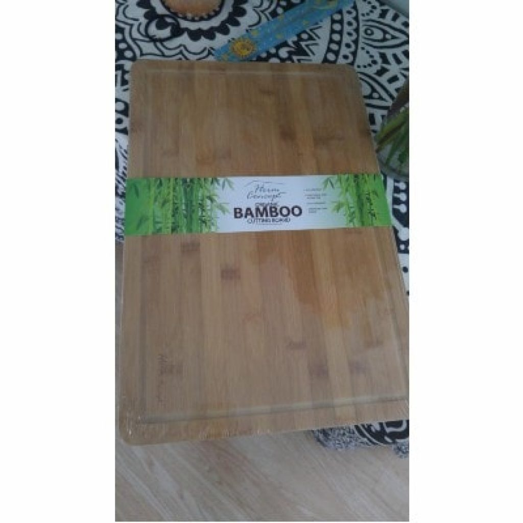 newly bought Heim Concept Organic Bamboo Cutting Board