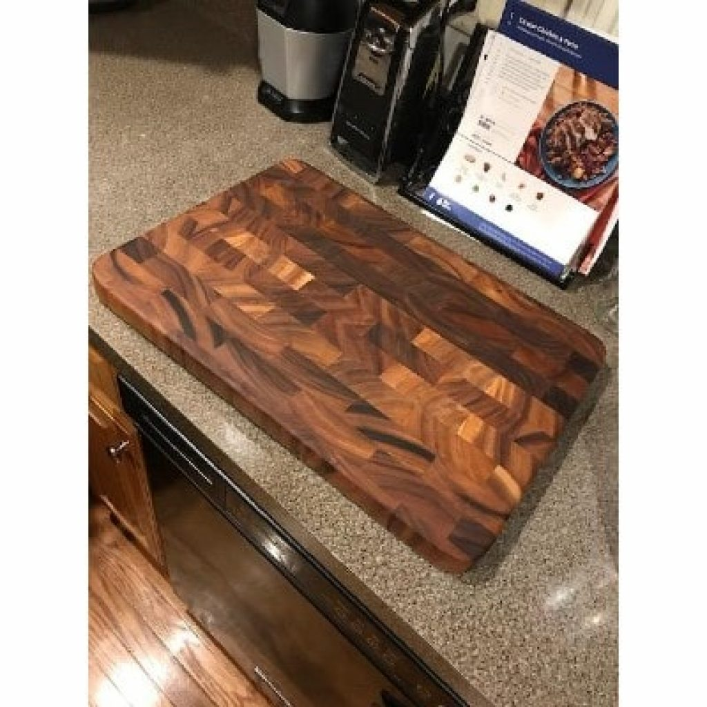 Ironwood Gourmet Prep Station on kitchen table