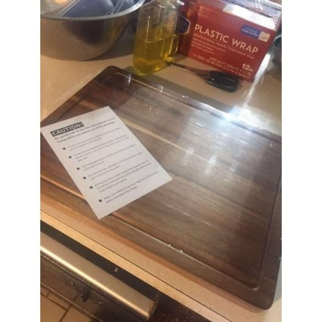 newly bought SKY LIGHT Cutting Board
