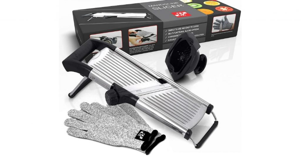 Mandoline Slicer with Cut