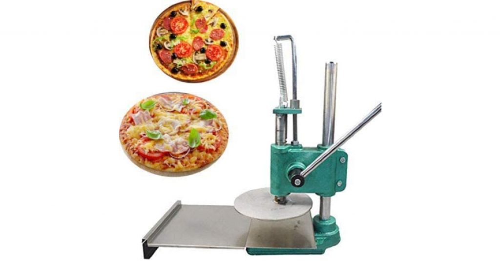 INTBUYING 8.7in Manual Pizza Dough Press