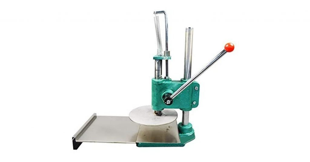 INTBUYING 8.7in Manual Pizza Press