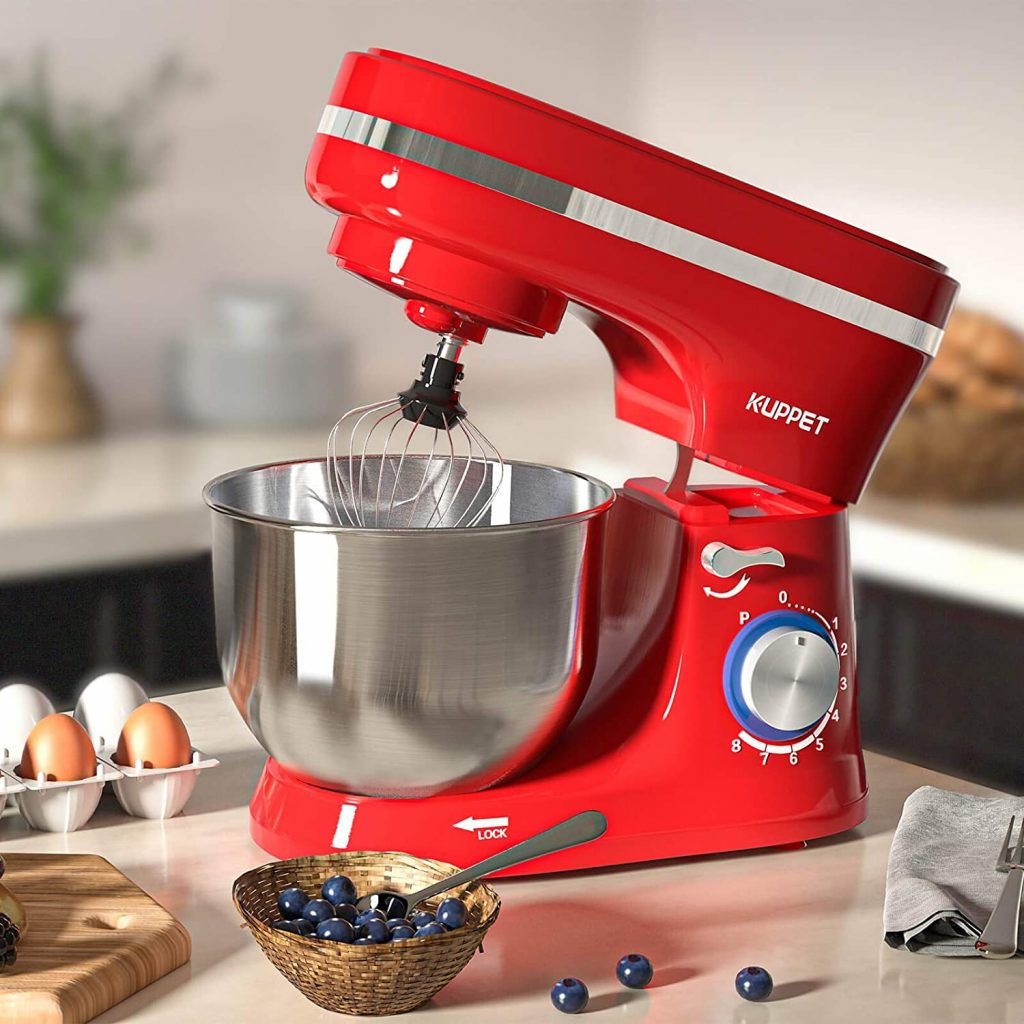 KUPPET Stand Mixer Red