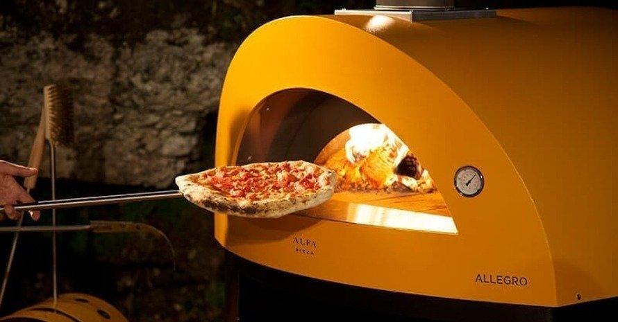 allegro yellow pizza oven
