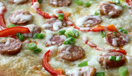 Cajun Pizza – Pizza oven recipe