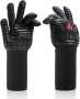 BBQ Gloves Extreme Heat Resistant: High-Heat Protected Hand Gloves for Oven