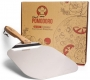 Chef Pomodoro Aluminum Pizza Peel with Foldable Wood Handle